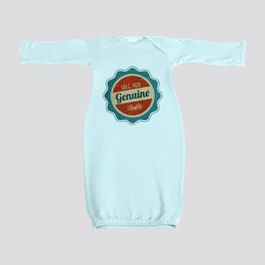 Retro Genuine Quality Since 1968 Baby Gown