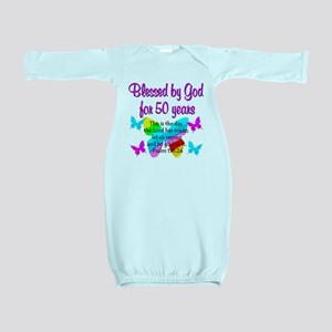 DELIGHTFUL 50TH Baby Gown
