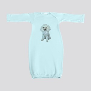 Poodle - Min (W) Baby Gown