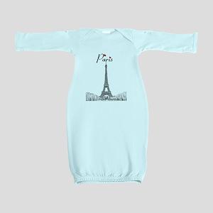Paris Baby Gown