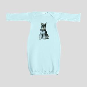 Schnauzer (gp2) Baby Gown