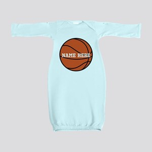 Customize a Basketball Baby Gown