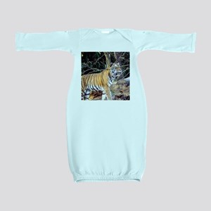 Tiger in the woods Baby Gown