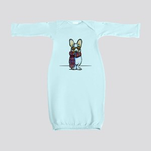 Cool Corgi Baby Gown