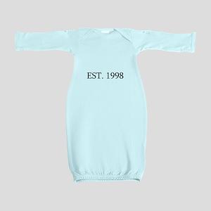 Est 1998 Baby Gown