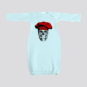 Red CHef Skull Baby Gown