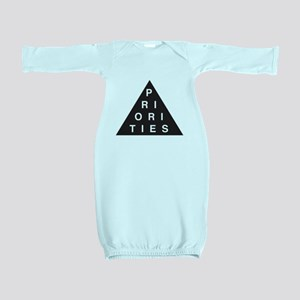 Priorities Triangle Baby Gown