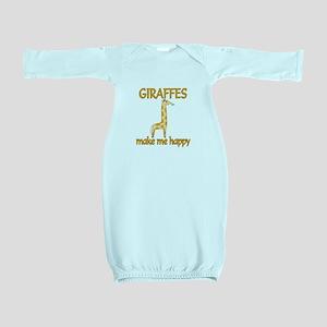 Giraffe Happy Baby Gown