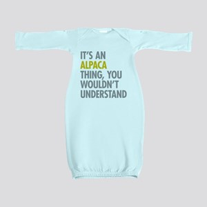 Its An Alpaca Thing Baby Gown