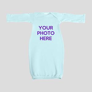Customize photos Baby Gown