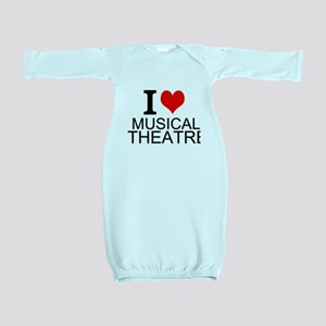 I Love Musical Theatre Baby Gown