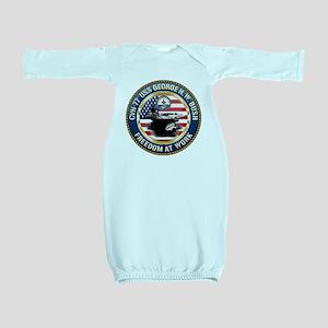 CVN-77 USS George H.W. Bush Baby Gown