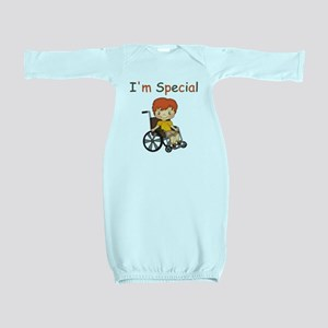 I'm Special - Wheelchair - Boy Baby Gown