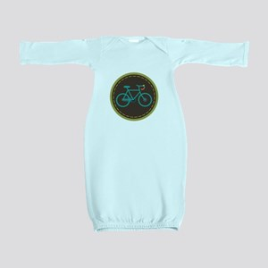 Bicycle Circle Baby Gown