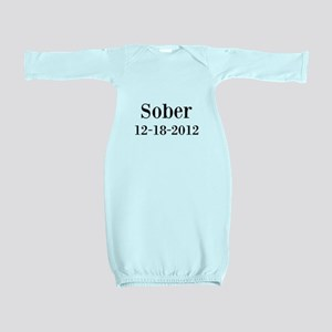 Personalizable Sober Baby Gown
