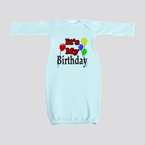 Its My Birthday Baby Gown
