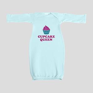 Cupcake baking queen Baby Gown