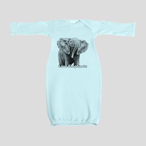 Love Elephants! Baby Gown