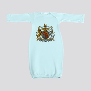 British Royal Coat of Arms Baby Gown