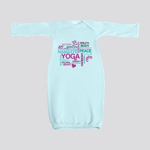 Yoga Inspirations Baby Gown