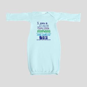911 DISPATCHER Baby Gown