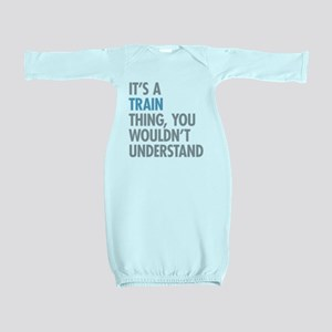 Train Thing Baby Gown