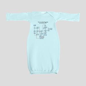 riendship algorithm Baby Gown