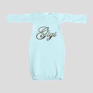 Gold Gigi Baby Gown