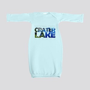 Crater Lake - Oregon Baby Gown