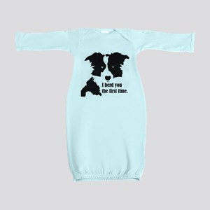 Border Collie Herd You Baby Gown