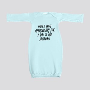 My Favorite Murder Bad Decisions Baby Gown