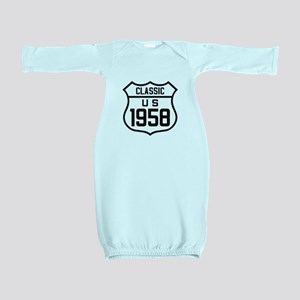 Classic US 1958 Baby Gown