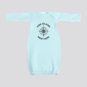 New York - Fire Island Baby Gown