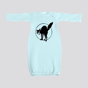 Anarchist Black Cat - Anarchism Sabocat Baby Gown