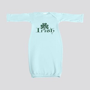 Irish: Celtic Shamrock' Baby Gown