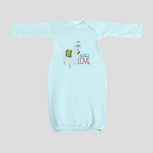 Alpaca Love Baby Gown