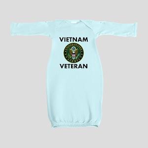Vietnam Veteran Baby Gown