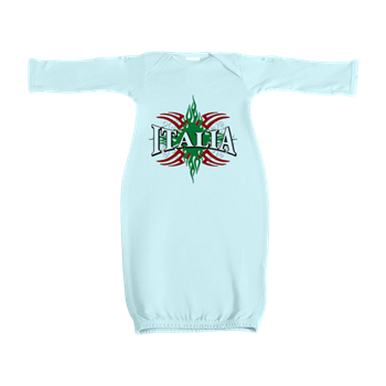 Italy T Shirt Baby Gown Italian Pride Italiantshirts Net