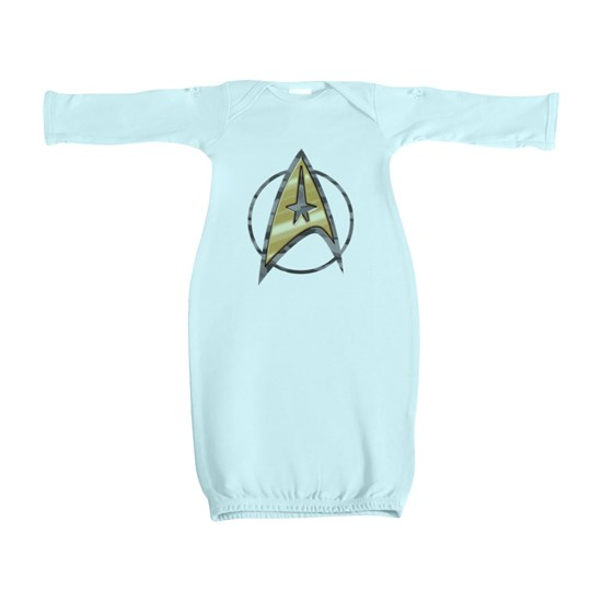 Grey Camo Star Trek logo