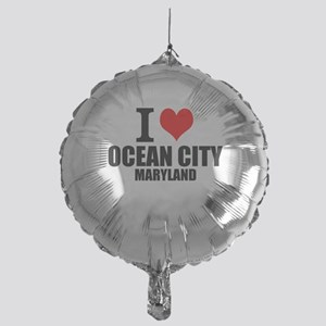 I Love Ocean City, Maryland Balloon