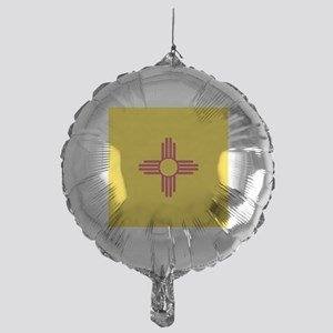 Flag of New Mexico Mylar Balloon
