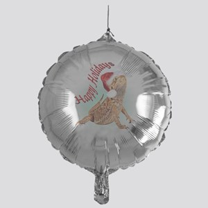 Bearded Dragon Santa Mylar Balloon