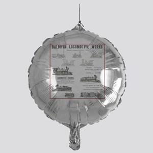 The Baldwin Locomotive Works Mylar Balloon