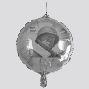 George Patton Mylar Balloon