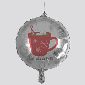 Holiday Hot Chocolate Mylar Balloon