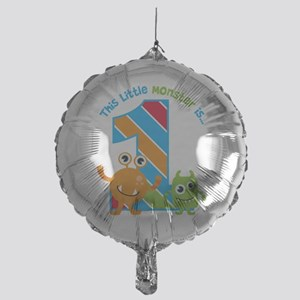 Little Monster 1st Birthday Balloon