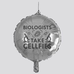 Biologists Take Cellfies Mylar Balloon