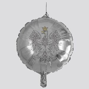 Polish Eagle With Gold Crown Mylar Balloon