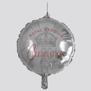 Royal Wedding Celebration Mylar Balloon