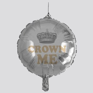 Crown Me 1 Mylar Balloon